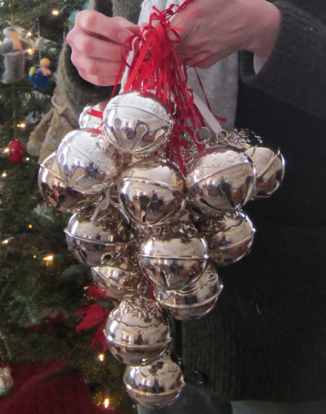 Silver Bells Christmas Decorations Captivating Silver Bells  Silver & Grey  Pinterest  Jingle Bells Christmas Design Ideas