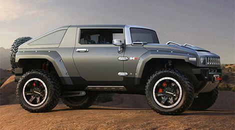 Hummer Hx Concept Hummer Truck Hummer Cars Hummer Hx