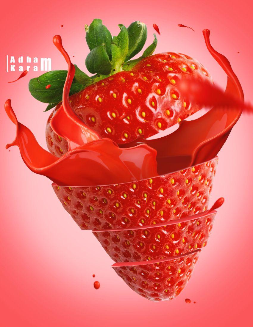 Juice Splash Fruit Splash Strawberry Strawberry Juice