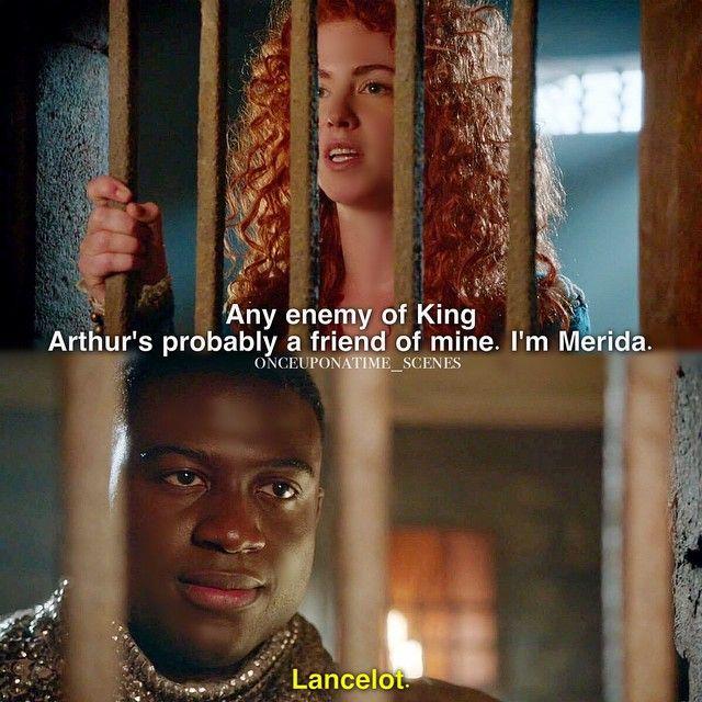 "Lucifer Once Upon A Time: Lancelot And Merida - 5 * 4 ""Broken Kingdom"""