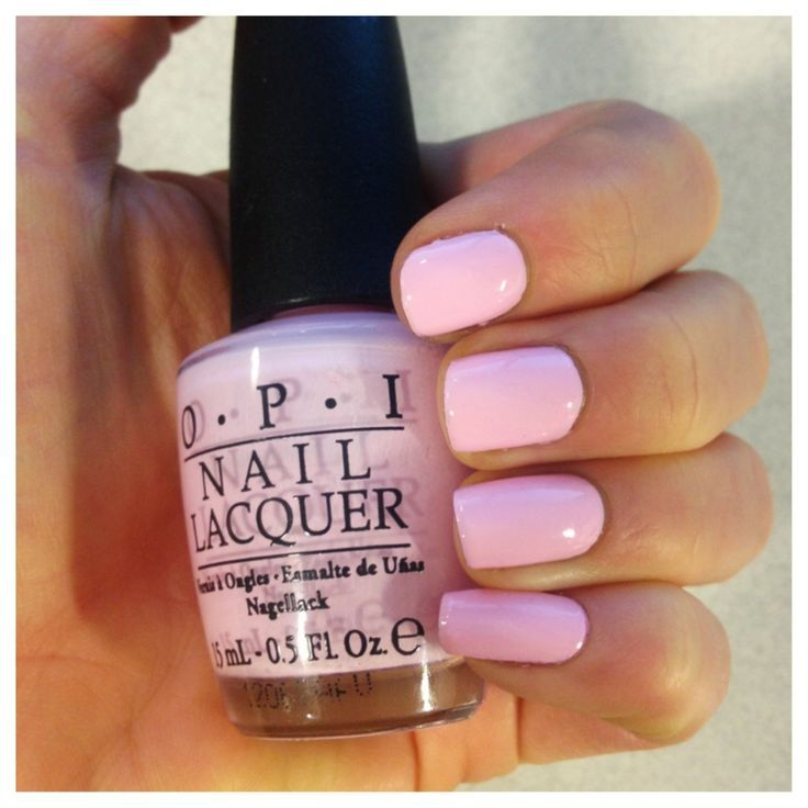 Opi S Mod About You The Perfect Pastel Pink Polish My All Time