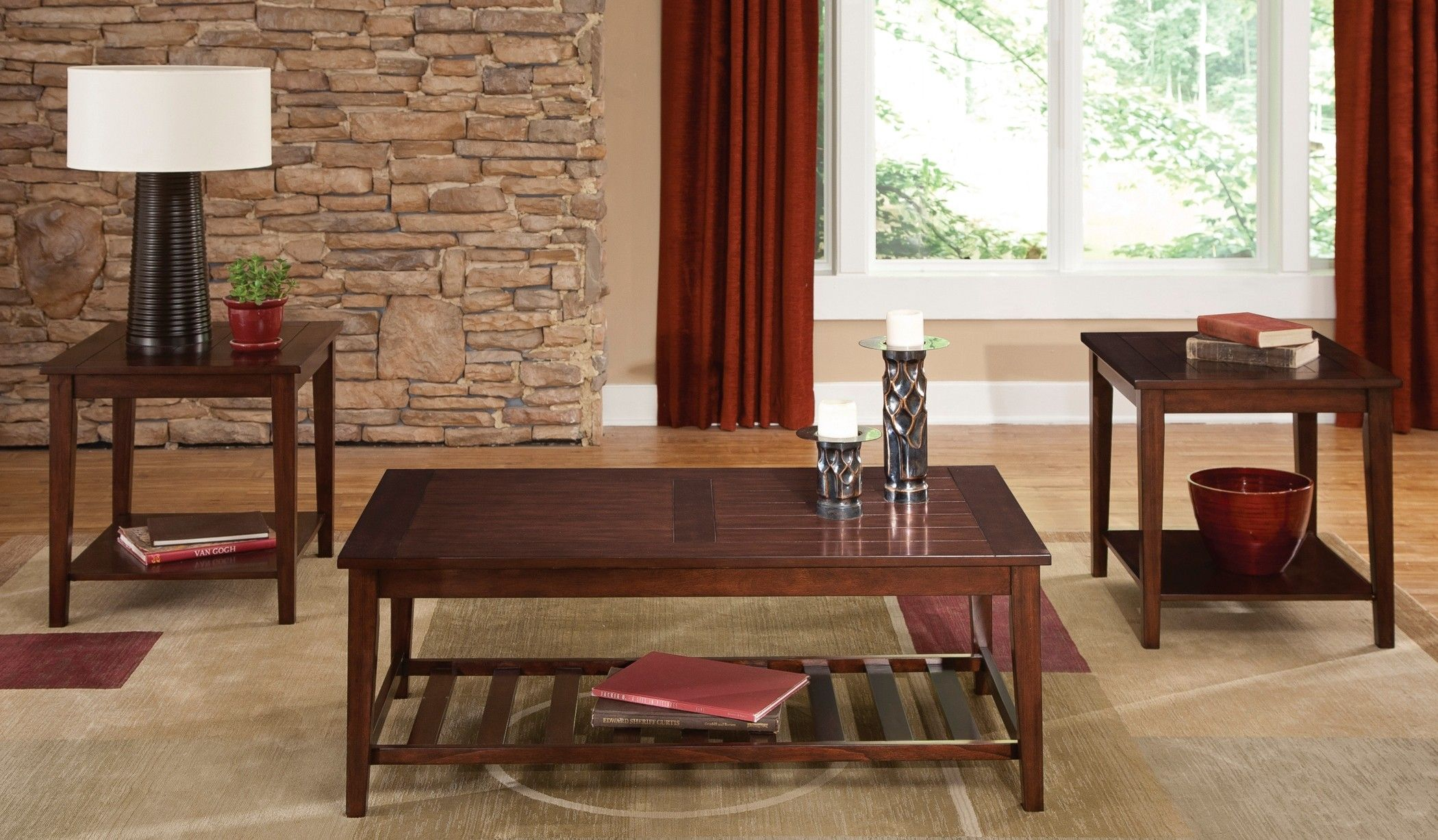 Missoula 3 Piece Occasional Table Set By Liberty Coffee Table 3 Piece Coffee Table Set Living Room Table Sets