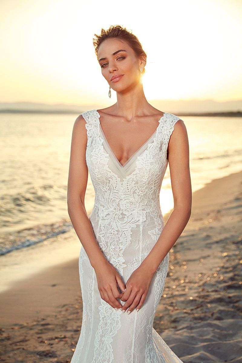 Wedding Dress Cristina   Wedding dresses, Destination wedding ...