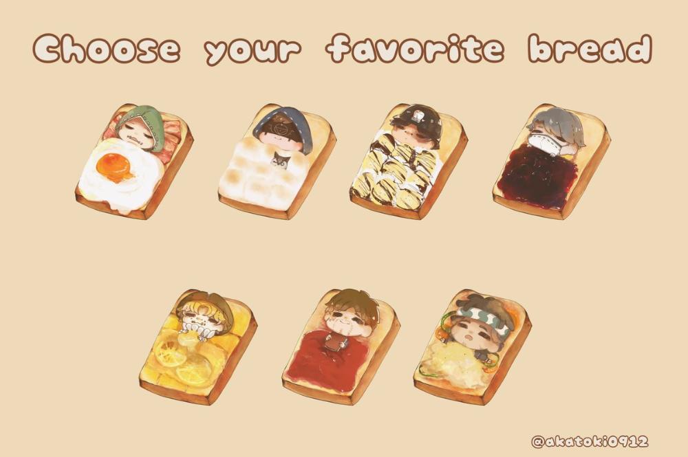 お好きなパンを選んでね 第五人格イラスト identityv 第五レストランpic twitter com 1i0wspyxdt คาวาอ