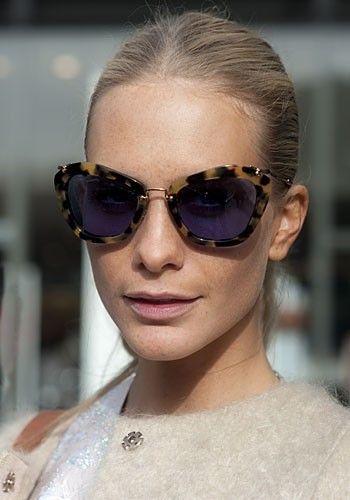 58a69d1045e Poppy Delevingne in Miu Miu sunglasses