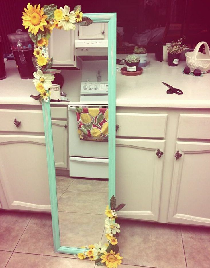 16 Really Cool DIY Mirrors That You Can Do For Free | Diy ...