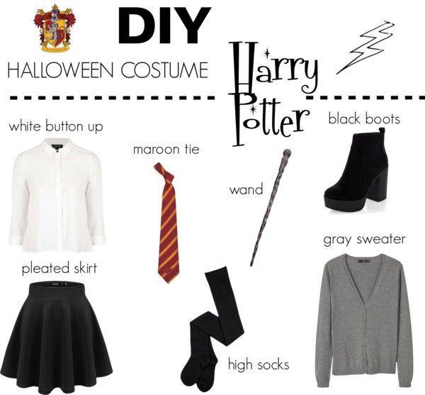 Diy Easy Last Minute Halloween Costumes Diy Pinterest