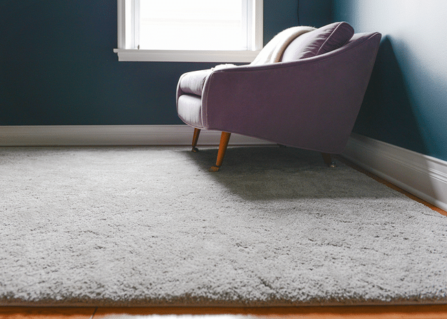 An Area Rug Alternative (That's Affordable!) in 2020