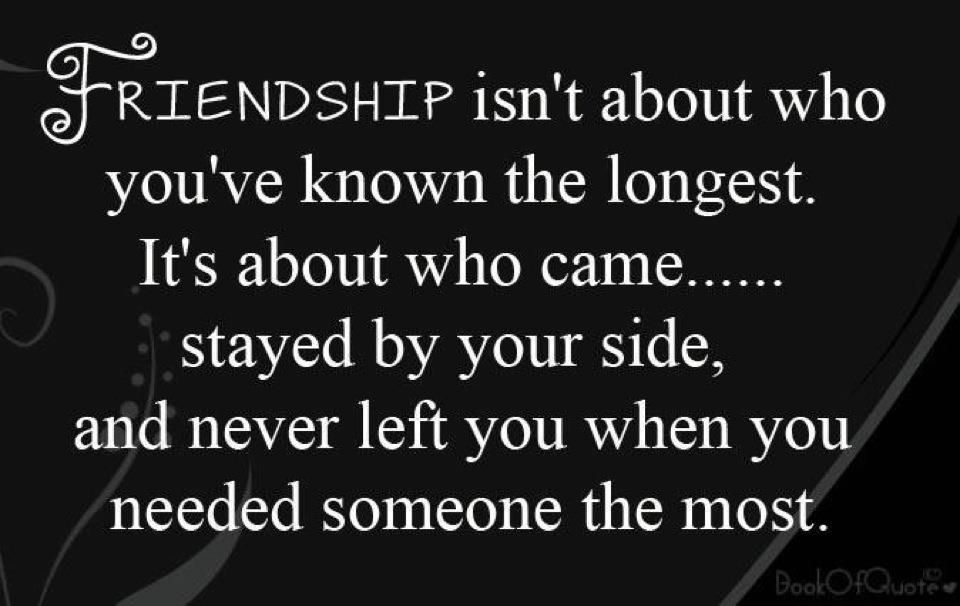 So Very Very True Sometimes The People You Least Expect Are There For You When Your Life Long Friends Ar I Love My Friends True Friends Meaningful Quotes