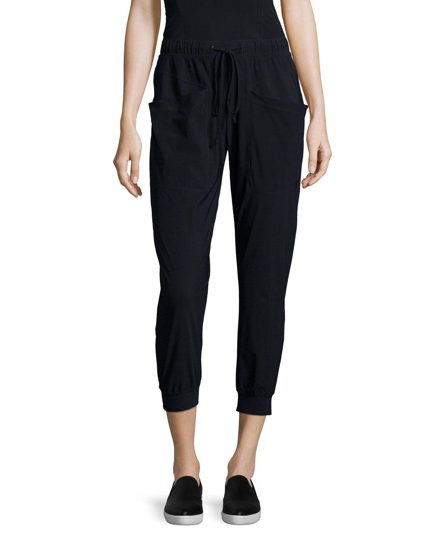 Pescadero Cropped Pants, Black, Size: SMALL - J Brand Jeans
