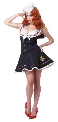 california costumes womens nautical doll costume