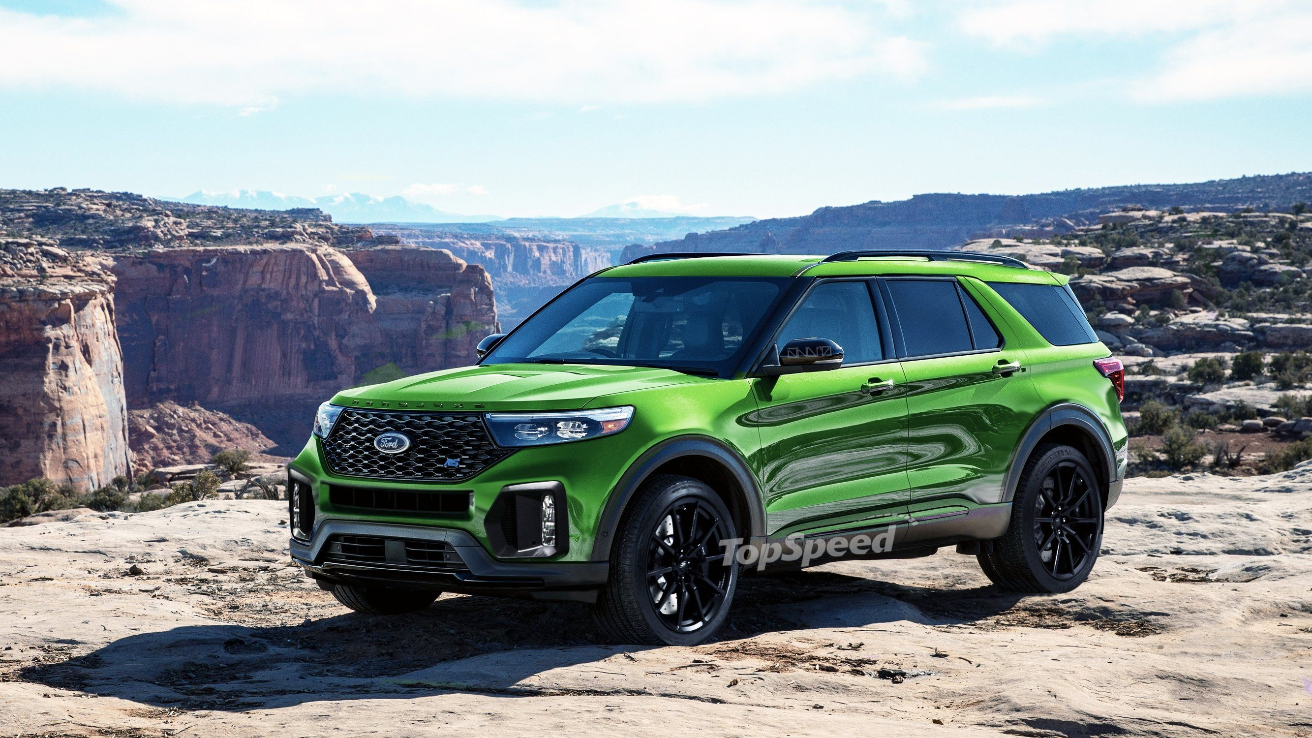 Why Should Ford Stop With The Explorer St It Could Make An Rs Ford Started St Ing Its High Rider Range With The Cars Autos Aut Ford Explorer Ford Explore