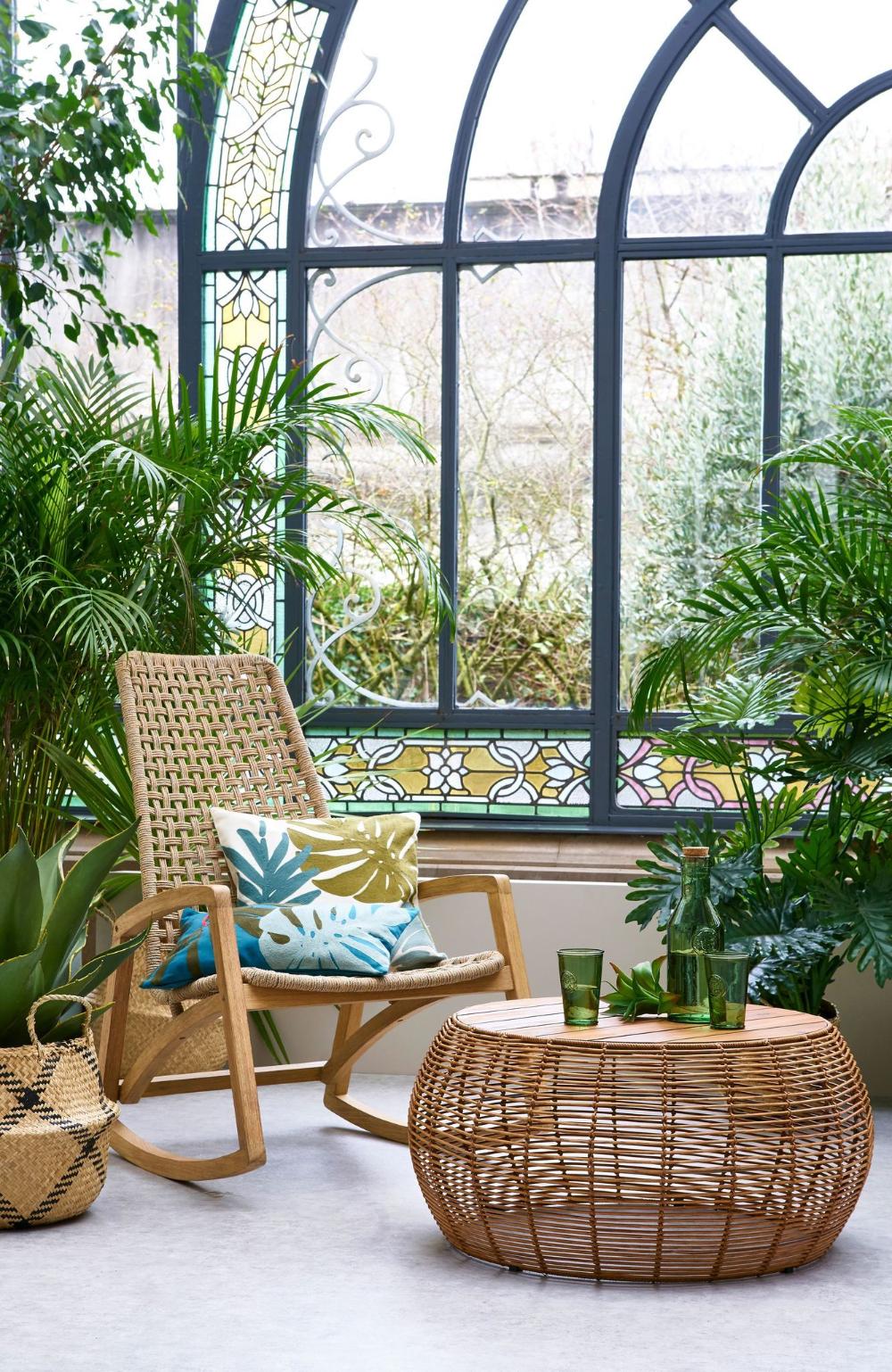 Nouveautes La Redoute Interieurs Meuble Table Et Salon De Jardin En 2020 Deco Terrasse Salon Rustique Moderne Table Exterieur