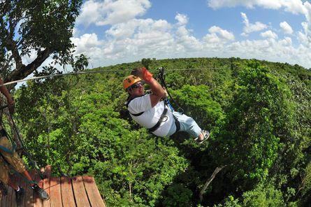 Cancun Extreme Zipline Canopy Tour Cancun Trip Ziplining Family Summer Vacation