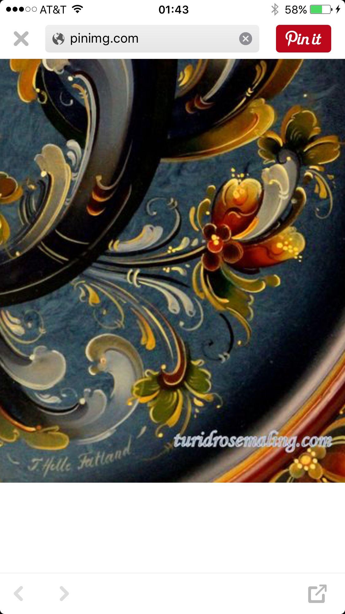 1000 images about folk art on pinterest norwegian rosemaling folk art and nancy morgan - Painting tool avis ...
