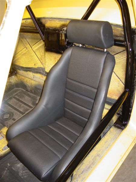 Fitting A Porsche 914/6 Style Seat By Emory Motor Sports In Oregon.