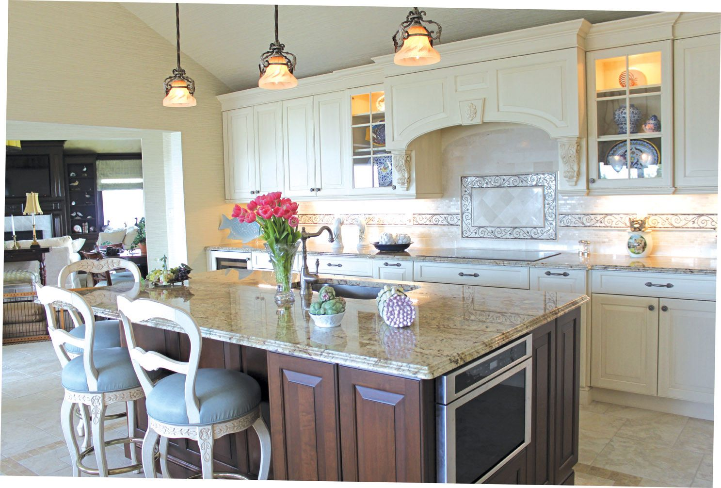 Our Latest Feature In House Magazine Marilyn Rose Interiors House And Home Magazine Kitchen Design Nyc Interior Design