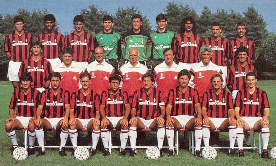 Image result for ac milan vs real madrid 1988/89 second leg