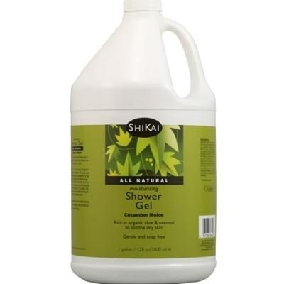 Shikai Moisturizing Shower Gel Cucumber Melon -- 1 Gallon Vitamin s
