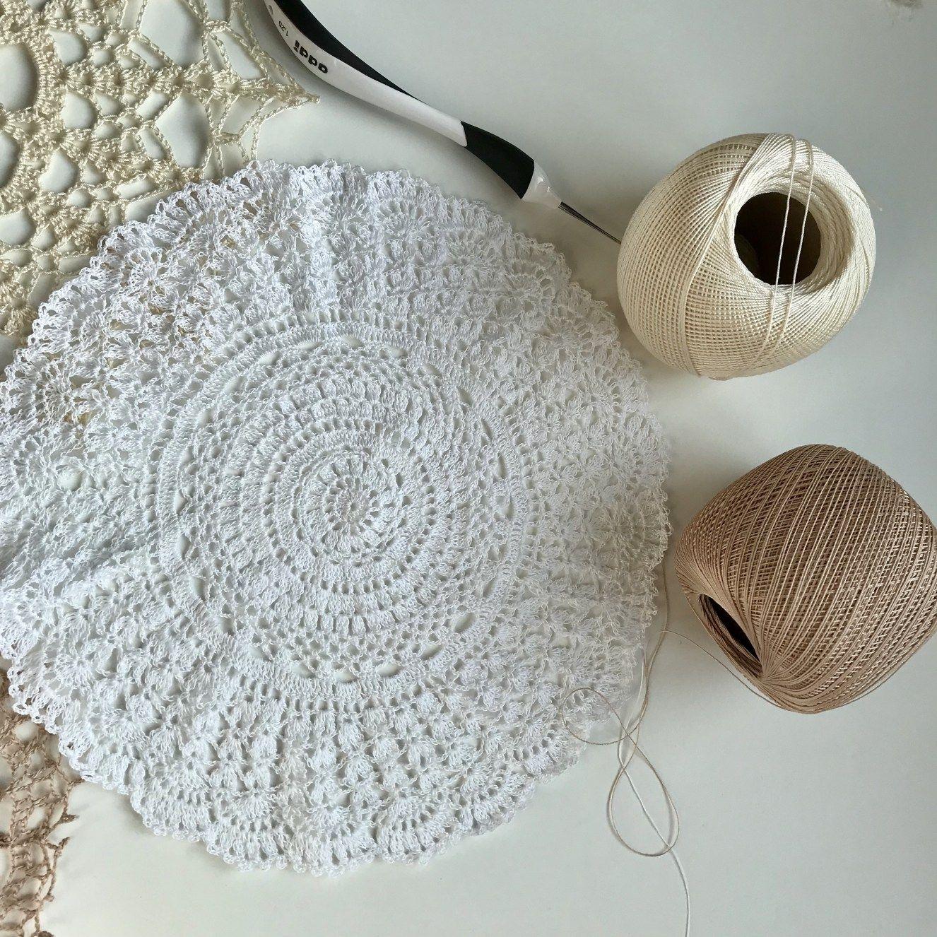 Five free Crochet Doily Patterns | Agrraderas y carpetas | Pinterest ...