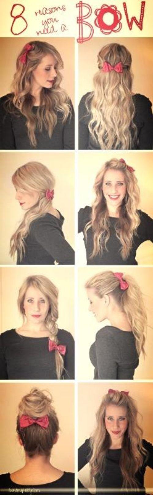 Peinados faciles para pelo ondulado largo