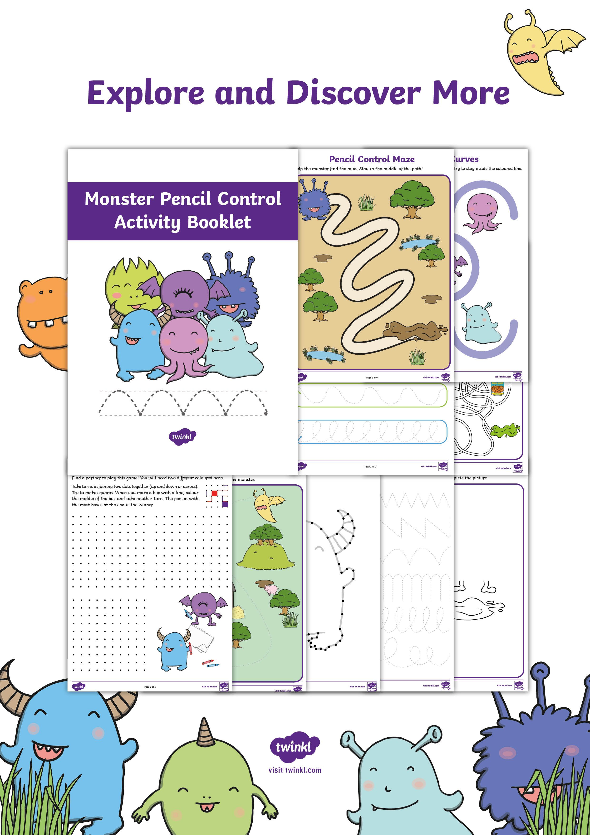 Practise Mark Making And Drawing With This Fun Activity