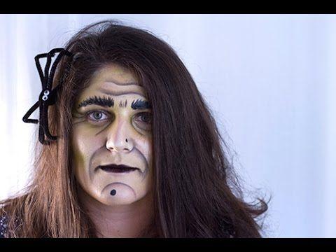 maquillage sorciere moche