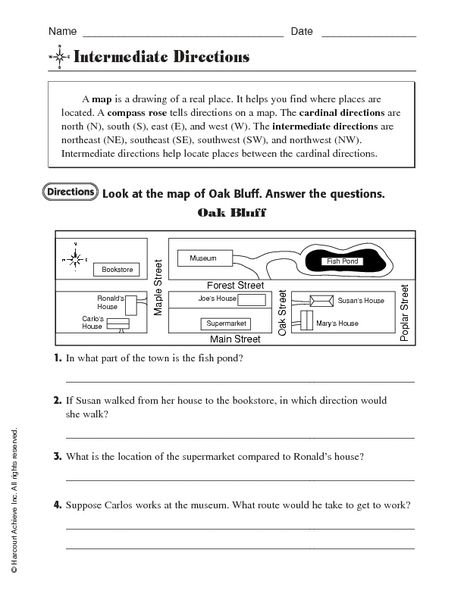 Intermediate directions map directions westing game pinterest intermediate directions map directions ibookread PDF