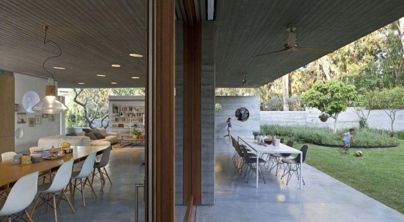 Sichtbeton Innen Fur Boden Und Decke Ein Architektenhaus In Israel