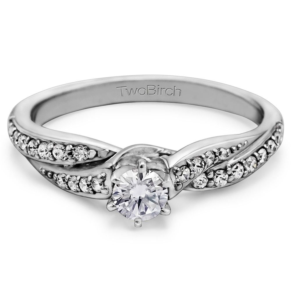 Infinity wave promise ring this is the one dream wedding