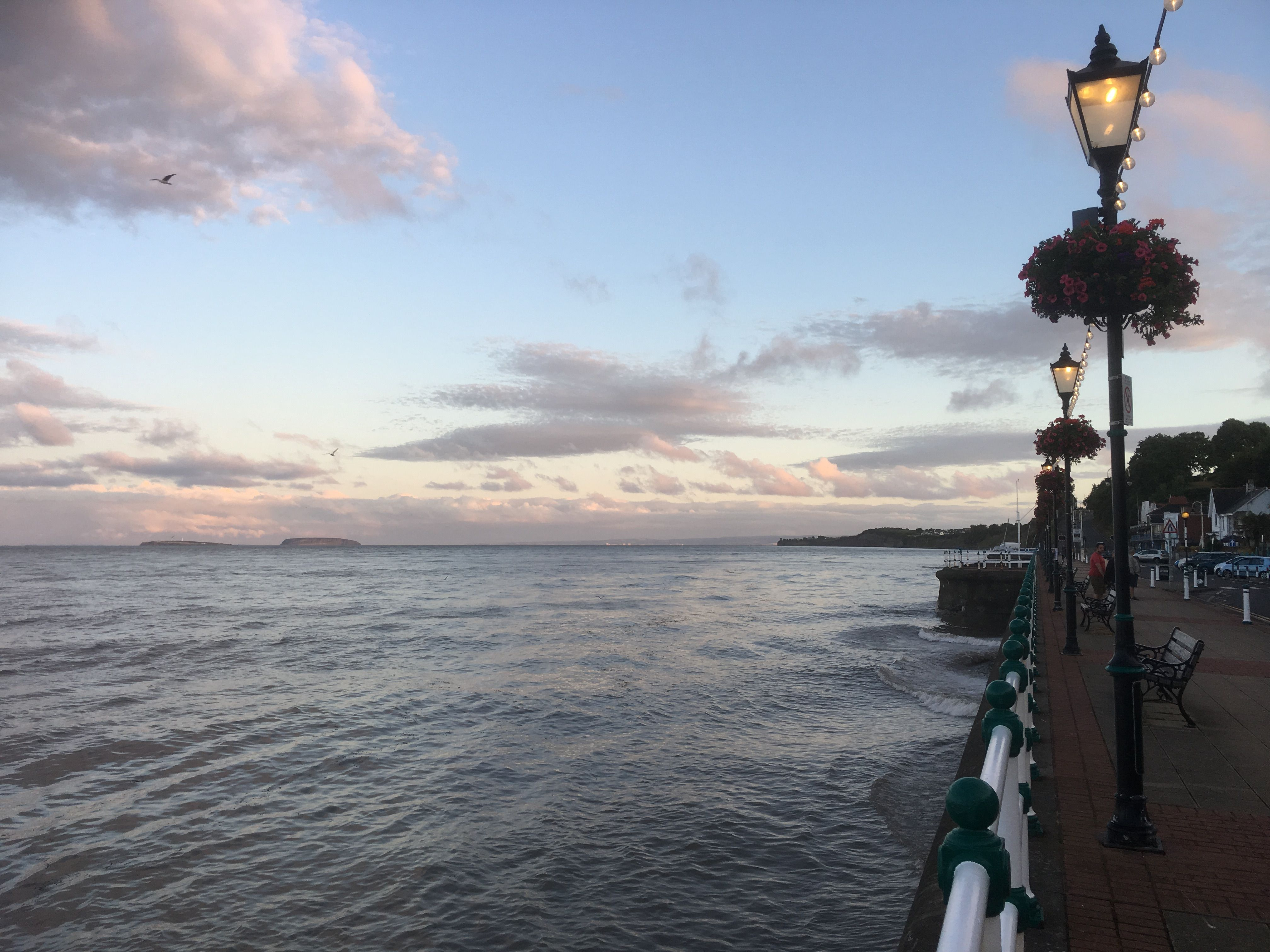 Bed And Breakfast Penarth High Tide At Penarth Coastlines And Harbours Of Wales