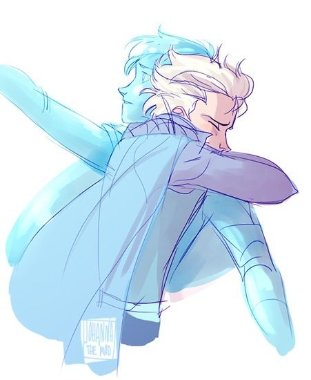 only pic that i like involving gender bent frozen. .its
