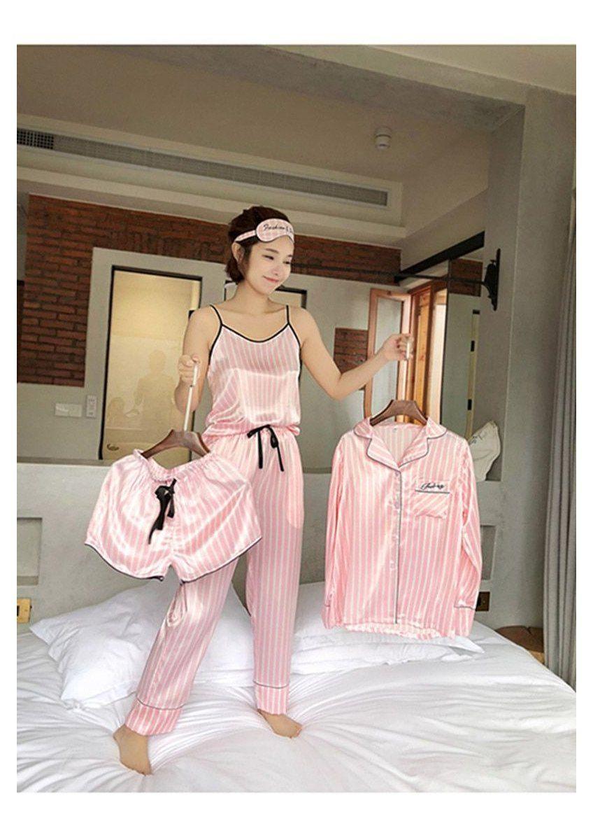 pink sleepwear pjs