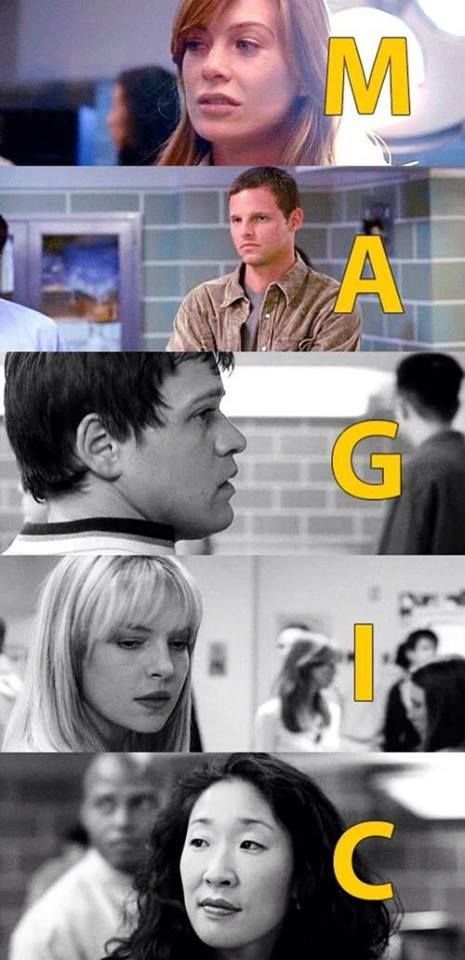 MAGIC: Meredith Grey, Alex Karev, George O'Malley, Izzie ...