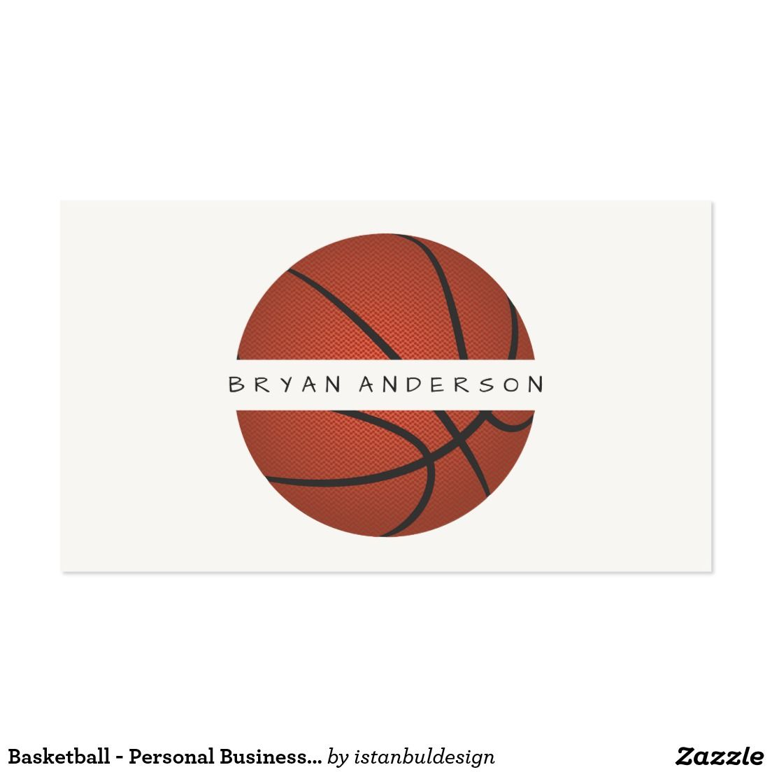 Basketball - Personal Business Card | Personal Professional Business ...
