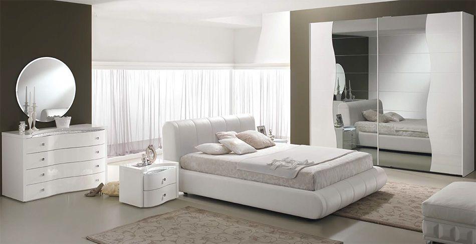 Modern Italian Bed / Bedroom Set Sax by Spar - $3,299.00   Camera ...