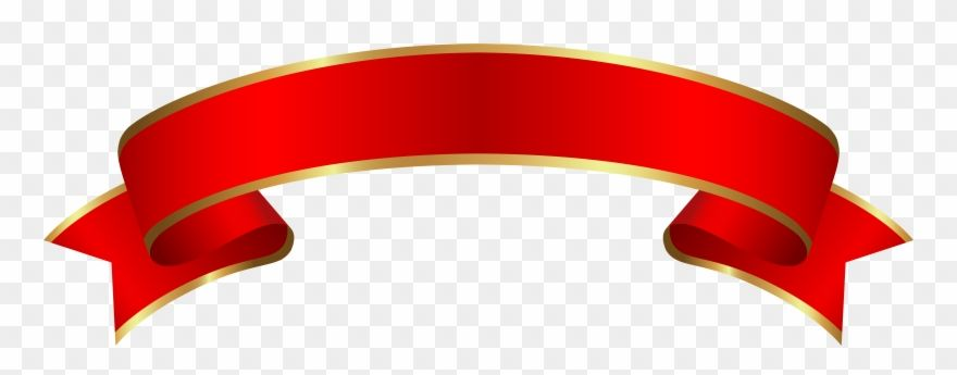 Download Hd Clipart Free Banners Transparent Circle Red And Gold Ribbon Banner Png Download And Use The Free Clipar Free Clip Art Free Banner Ribbon Banner