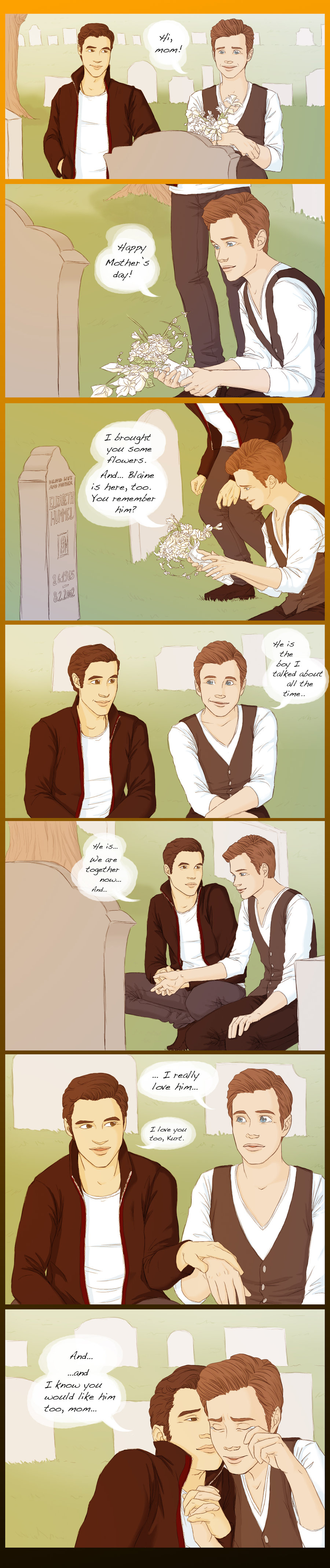 from Eddie kurt and blaine dating fanfiction