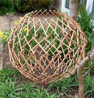 expandable garden willow trellis sphere expanding climbing plant