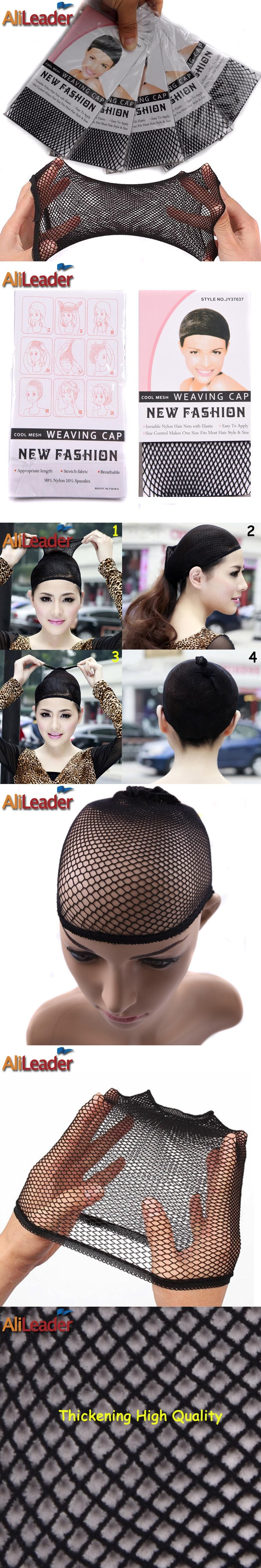 2pcslot Head Caps For Women For Wigs Hair Net Cap Great Elastic