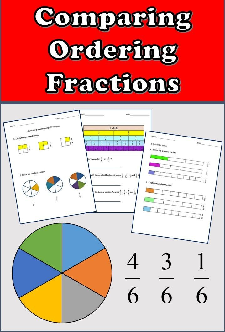 fractions worksheets 3rd grade 4th grade comparing and ordering fractions awesome k 5 math. Black Bedroom Furniture Sets. Home Design Ideas