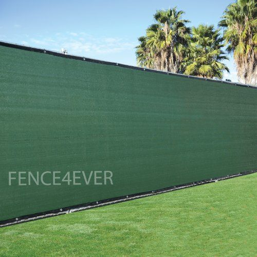 6X50 Black Sun Shade Screen Mesh, 83% shade - Chain link fence mesh 5 ft 8 in x 49 ft 3 in