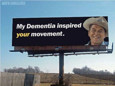 Reagan and dementia