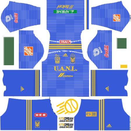 camisetas Tigres UANL dream league soccer 2019 Tigres