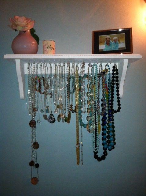 I just finished my new jewelry organizer!!