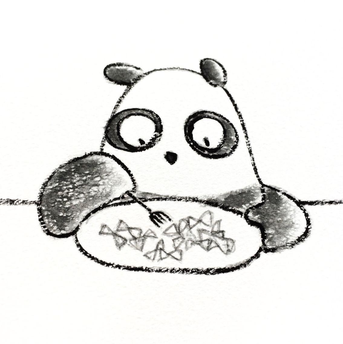 【一日一パンダ】 2014.10.25 マカロニはパスタの一つだよ。 カラフルな物やハートやリボン等色々な形があって 面白いよ。 日本では明治初期に既に工場生産されてたらしいよ。