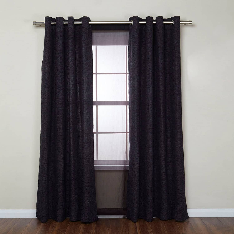 Umbra Cappa Adjustable Double Curtain Rod Affiliate Adjustable Sponsored Cappa Umbra Rod Double Rod Curtains Curtains Double Curtains