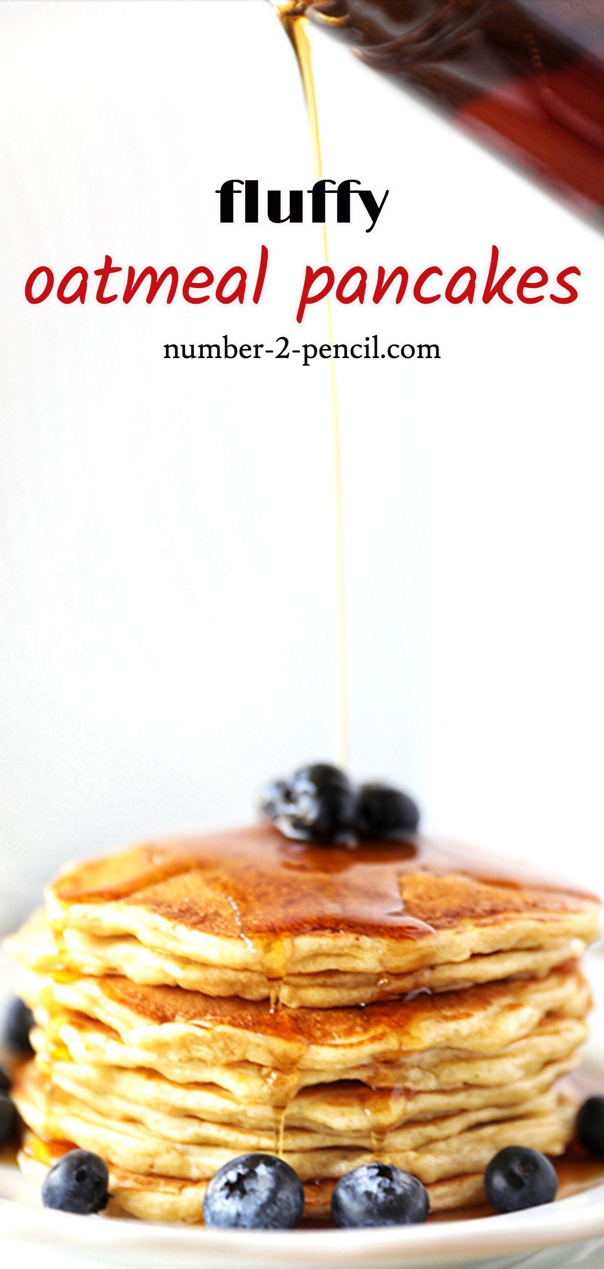 Oatmeal Pancakes Fluffy Oatmeal Pancake Recipe Recipe Oatmeal Pancakes Oatmeal Pancakes Recipe Pancake Recipe Buttermilk