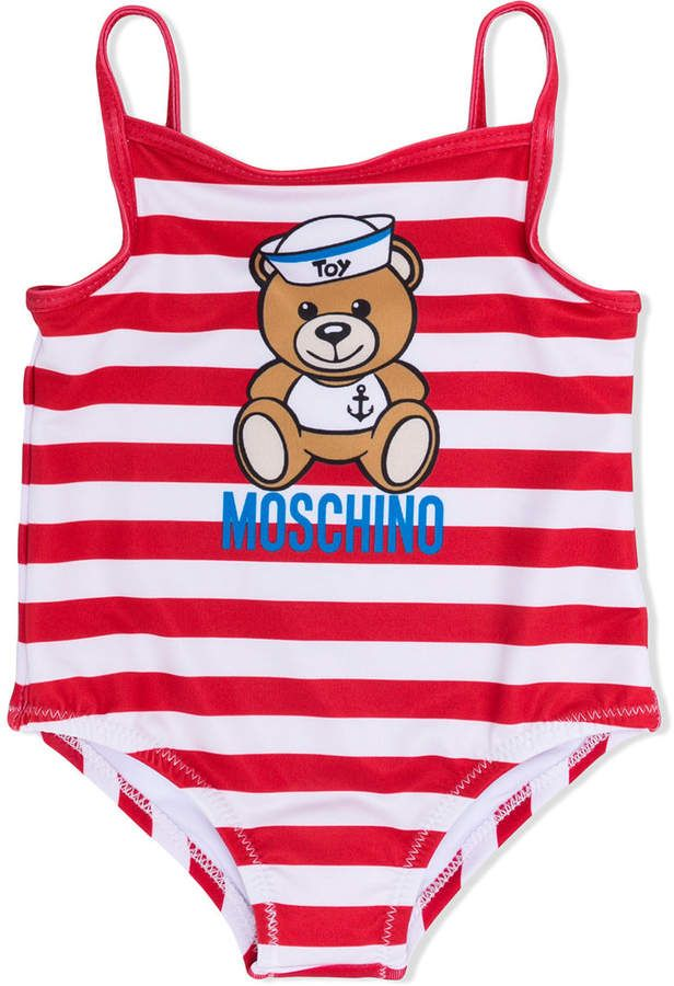 275fb000979d8 Moschino Kids teddy bear print swimsuit | Products | Swimsuits ...