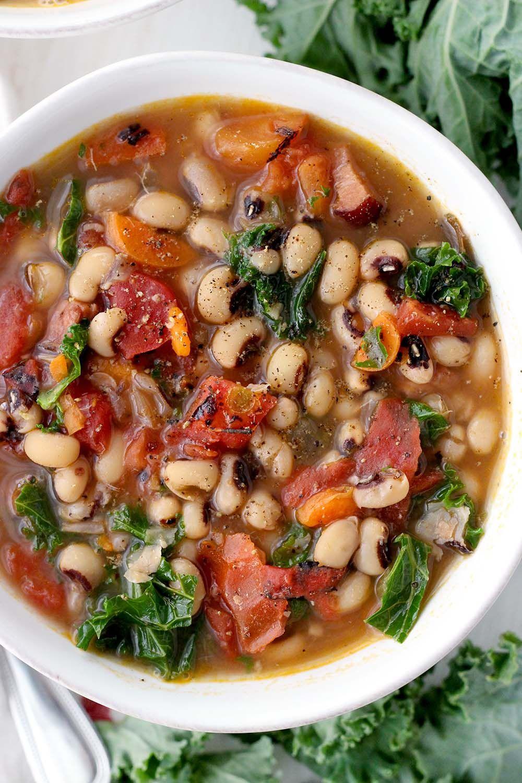 Instant Pot Black Eyed Pea Soup Recipe Black eyed pea